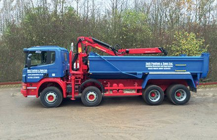 GRAB MUCK AWAY SERVICE - 8 wheeler grab lorries or load one of our tippers without a grab