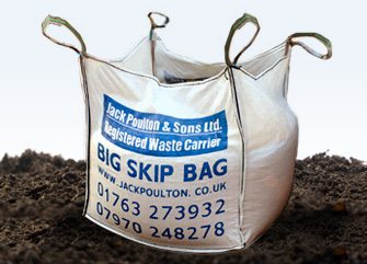 Top soil Skip Bag