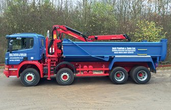 Haulage - 8 Wheeler Tipper/Grab Lorries