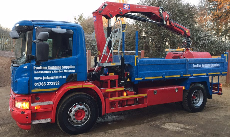 4 Wheeler Small Grab Hire Lorries