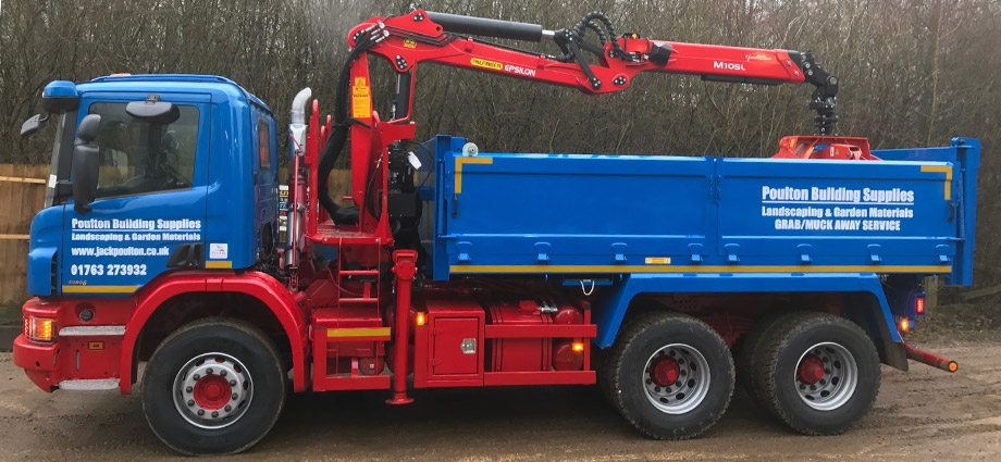 6 Wheeler Small Grab Hire Lorries
