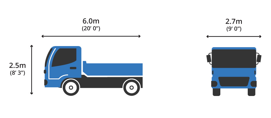 4 Wheeler Tipper Diagram