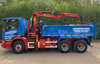 6 Wheeler Tipper/Grab Lorries